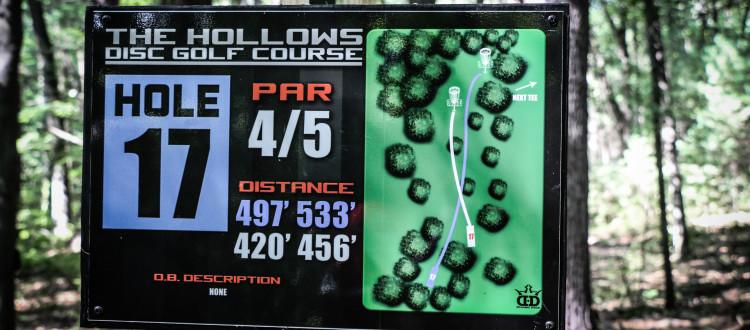 The Hollows Disc Golf Course