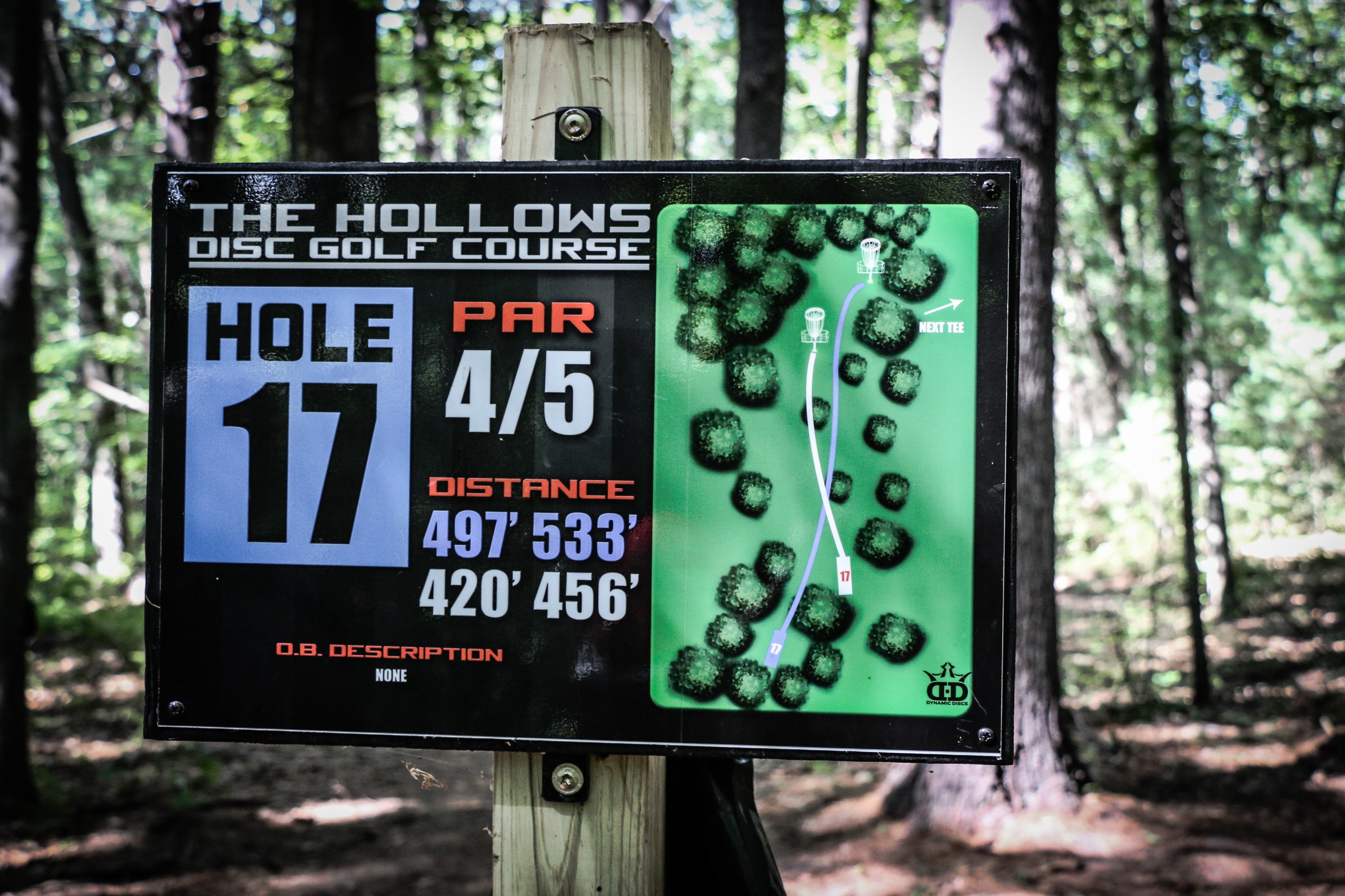 The Hollows Disc Golf Course