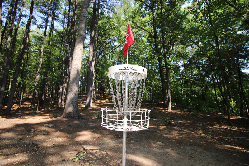 Hollows Disc Golf Course designed by Dynamic Course Design