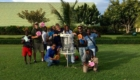 Dynamic Discs Veteran Baskets in the Dominican Republic